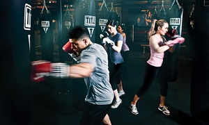 Title Boxing - Woburn: $19 for Boxing or Kickboxing Classes at Title Boxing ($75 Value)