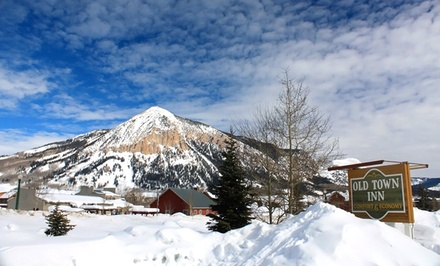 groupon daily deal - 1-Night Stay for Up to Four in a Two-Queen Room at Crested Butte Old Town Inn in Crested Butte, CO