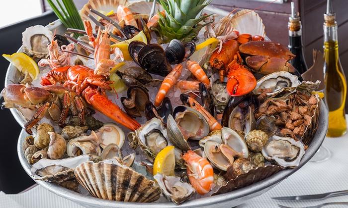 Plateaux de fruits de mer pour 2 personnes la mamma cagnes groupon - Decoration plateau fruit de mer ...