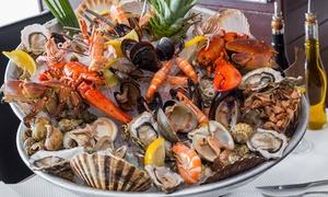 La Mamma Cagnes: Plateau de fruits de mer Le Neptune ou L'Amiral pour 2 personnes dès 45,90 € au Le Ristorante La Mamma