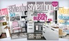 """Style at Home"": $10 for a One-Year Subscription to ""Style at Home"" Magazine ($19 Value)"