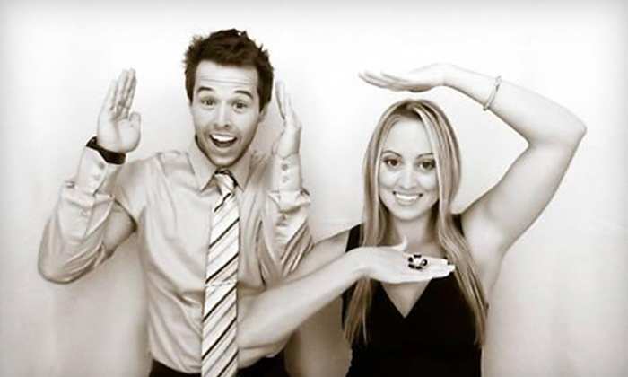 The Photo Booth Company - Fresno: $399 for a Three-Hour Photo-Booth Rental from The Photo Booth Company ($799 Value)