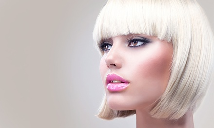 Haircut, Blow-Dry, and Style with Optional Partial Highlights at Salon Povera (52% Off)