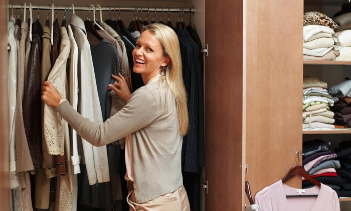 Closet Design - North Jersey: Two Hours of Home Organization Services from Closet Design (45% Off)