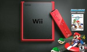 Wii Mini (manufacturer Refurbished) With Mario Kart Wii