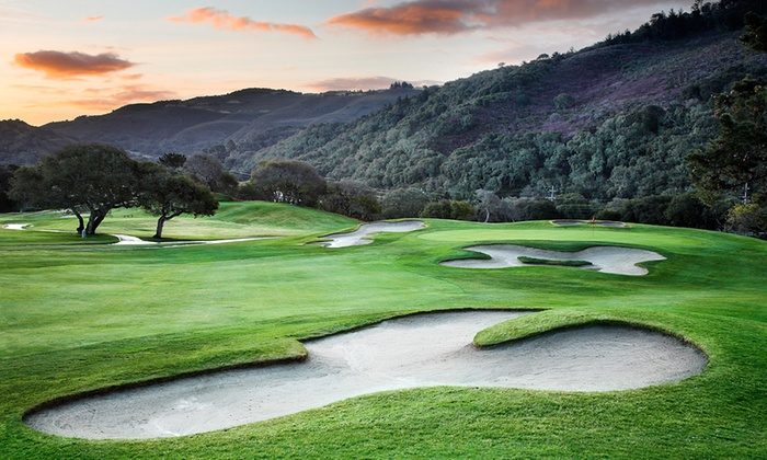 Laguna Seca Golf Ranch - Seaside-Monterey: $99 for All-Day Unlimited Golf for Two with Cart at Laguna Seca Golf Ranch ($178 Value)