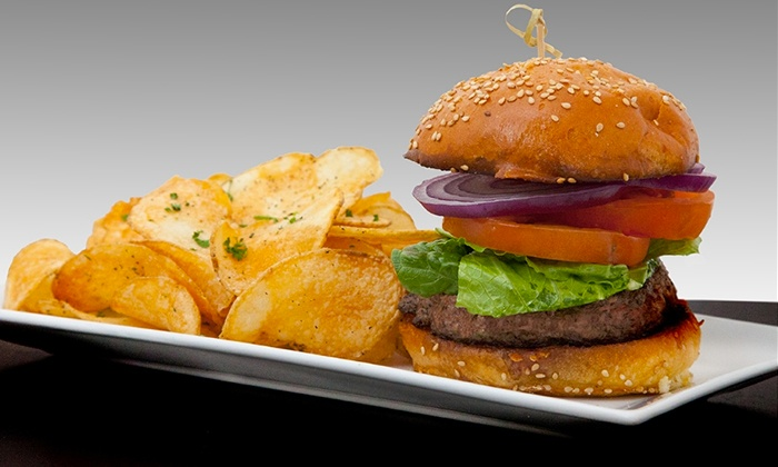 Tiff's Burger & Beer Garden - Tiff's Burger & Beer Garden - Pequannock: Burgers and American Food at Tiff's Burger & Beer Garden (Up to 50% Off). Two Options Available.