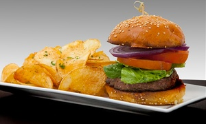 Tiff's Burger & Beer Garden: Burgers and American Food at Tiff's Burger & Beer Garden (Up to 50% Off). Two Options Available.