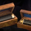 Handheld Brass Pirate Navigation Telescope with Wooden Box