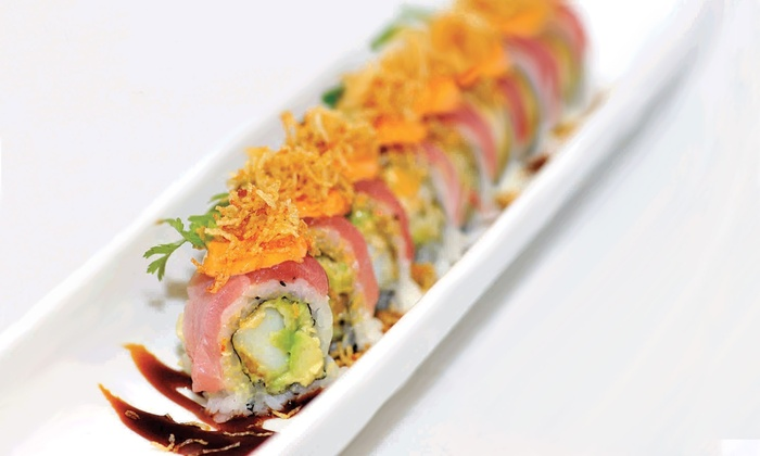 Feng Shui - Tyngsborough: $12 for $25 Worth of Sushi and Chinese Cuisine for Dine-In at Feng Shui