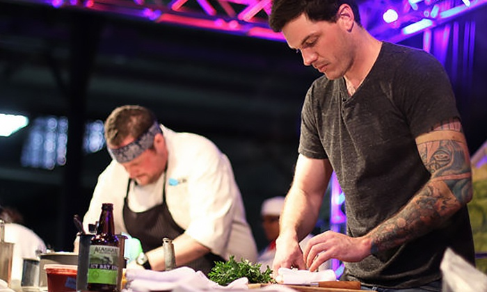 Dallas Observer Iron Fork - Centennial Hall at Fair Park: Dallas Observer Iron Fork for Two or Four on April 29 at 7 p.m. (Up to 55% Off)