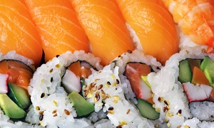 Wasabi: Sushi and Japanese Food at Wasabi (50% Off). Two Options Available.