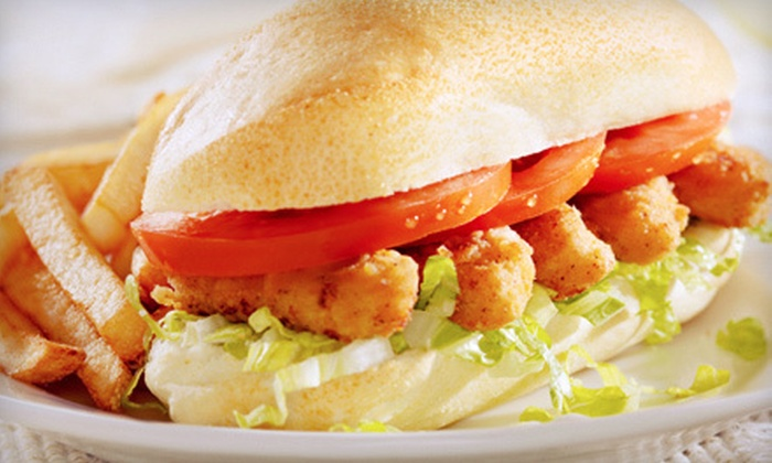 The Big Easy Cafe - Watkinsville: Cajun Lunch for Two or Four at The Big Easy Cafe (Up to 58% Off)