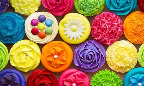 Curso de cupcakes o galletas decoradas con fondant para 1 o 2 personas desde 19 €