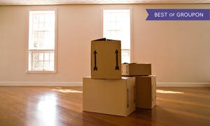 JB Packing and Kleaning: Three or Four Hours of Moving Services from JB Packing and Kleaning (Up to 45% Off)