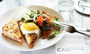 Cantine Parisienne: French Dinner and Wine for Two or Four at Cantine Parisienne (Up to 59% Off)