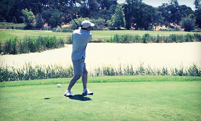 St. Stanislaus Golf Course - Modesto: 18-Hole Round of Golf with Cart Rental and Range Balls for Two or Four at St. Stanislaus Golf Course (Up to 51% Off)