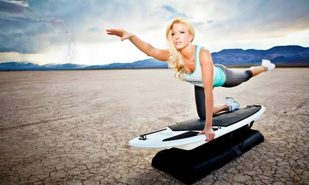 Four or Eight Groupons, Each Good for One Surfboard-Fitness Class at Surfset Las Vegas (Up to 78% Off)