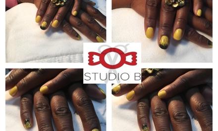 Up to 50% Off Mani-Pedis  at Studio B. Ann Arbor