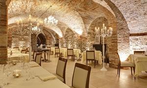 Ristorante Lo Scudiero: Menu gourmet di pesce con bottiglia di vino Franciacorta per 2 persone da Ristorante Lo Scudiero (sconto fino a 50%)