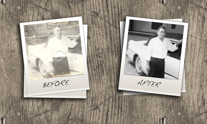 Photo Fixes: Digital-Photo Restoration for Two or Five Images from Photo Fixes (Up to 70% Off)