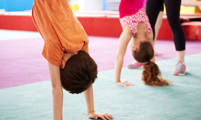 Champions Sports Center - Multiple Locations: Four Weeks of Tumbling Classes at Champions Sports Center (50% Off)