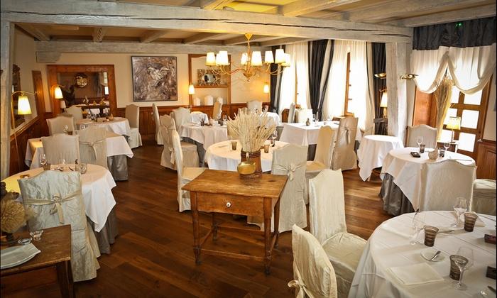 Restaurant Philippe Bohrer - Rouffach: Menu gastronomique en 7 services pour 2 personnes dès 89 € au restaurant Philippe Bohrer