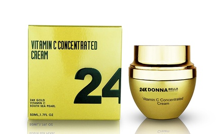 Donna Bella 24K Vitamin C Concentrated Cream; 1.7 Fl. Oz.