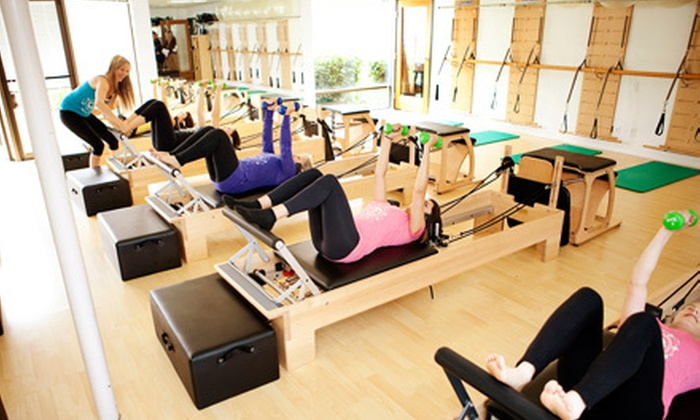 Club Pilates San Diego - Multiple Locations: $35 for Five Classes at Club Pilates San Diego (Up to $80 Value)