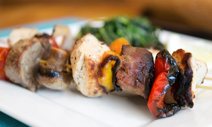 The Olive and Grape - Greenwood: Mediterranean Cuisine at The Olive and Grape (Up to Half Off). Three Options Available.
