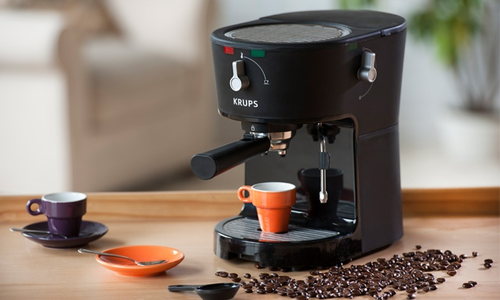 $79.99 for a Krups Opio Pump Espresso Machine. Free Shipping and Returns
