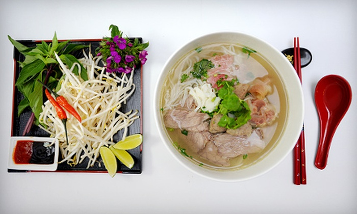 Saigon Bistro Express - Gilroy: Vietnamese Food at Saigon Bistro Express (Half Off). Two Options Available.