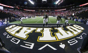 Las Vegas Outlaws: Las Vegas Outlaws Arena Football Game for Two at Thomas and Mack Center on June 28, July 25, or August 8 (Up to 85% Off)