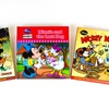 Vintage Disney Mickey and Minnie Mouse 3-Book Bundle