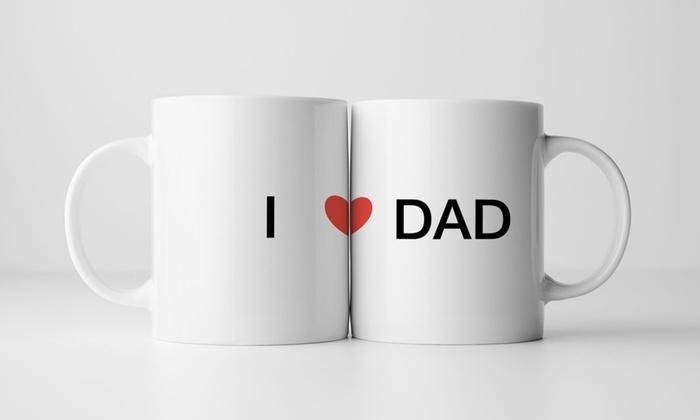 personalized father s day mugs printerpix groupon