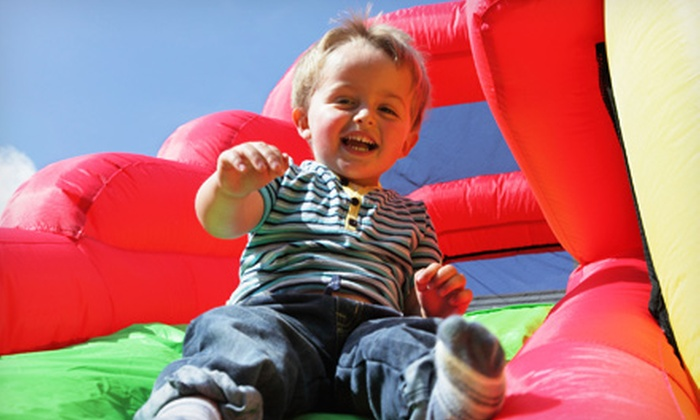 Monkey Joe's - Multiple Locations: Four Indoor Play Center Visits or One Jumping Jubilee Party for Up to 24 Kids at Monkey Joe's (Up to 52% Off)