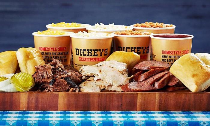 Dickey's Barbecue Pit - Rowlett: Picnic Family Pack, Family Pack, XL Family Pack, or $15 for $20 Worth of Food at Dickey's Barbecue Pit