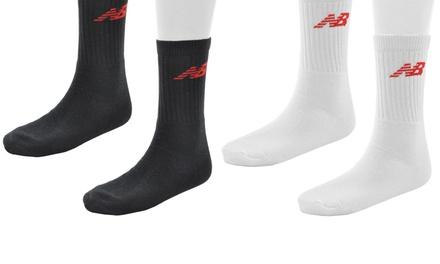 15er-Pack New Balance Socken in Schwarz oder Weiß