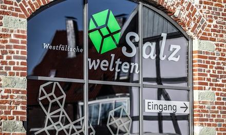 Eintritt für Zwei oder Familienkarte für die Westfälischen Salzwelten ab 6,50 € (bis zu 50% sparen*)