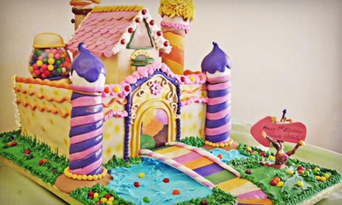 Selva's Cake Designers - Miami: Custom Cakes for 20, 40, or 60, or Two Dozen Cupcakes at Selva's Cake Designers (Half Off)