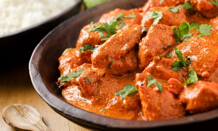 Dinner for Two or Four, or Lunch for Two at Maya Indian Restaurant (Up to 44% Off)