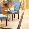 Set of 2 Leighton Tufted Dining Chairs