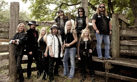 Lynyrd Skynyrd and Grand Funk Railroad at Sam Houston Race Park on Saturday, September 26 (Up to 37% Off)