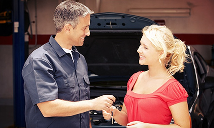 Dixon's Automotive Repair - Central Garage: $125 for a Seven-Point Auto Maintenance Package at Dixon's Automotive Repair ($256 Value)