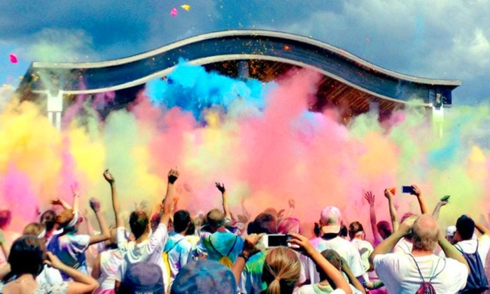 The Color Dash 5k - Desert Willow Intermediate School: 5K Entry for One, Two, or Four to Color Dash on Saturday, September 27 1 (Up to 45% Off)