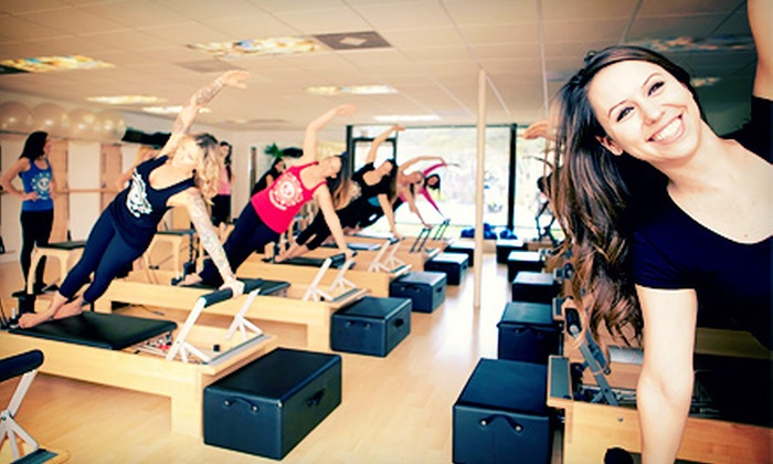 Club Pilates - San Juan Capistrano: Five or Eight Pilates Classes at Club Pilates (Up to 64% Off)