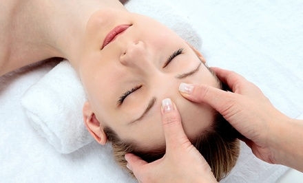 Choice of Massage with Option for Choice of Facial at Christine Valmy Salon & Day Spa (Up to 62% Off)