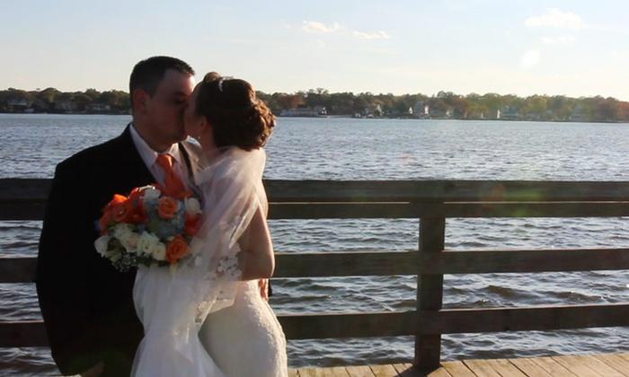 Monster Video Marketing - Franklin Center: Full-Day Wedding Videography from Monster Video Marketing (45% Off)