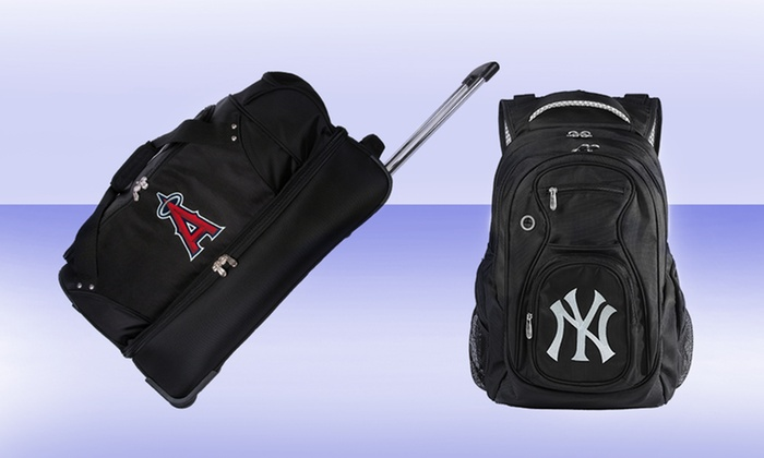 MLB Carry-On, Duffel, or Backpack: MLB Carry-On, Drop-Bottom Duffel, or Backpack from $39.99–$69.99. Multiple Teams Available. Free Returns.