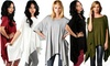 Tunics in Missy Sizes: Oversized Tunics in Missy Sizes